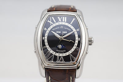 Maurice Lacroix Masterpiece Automatic Day Date Moonphase Watch MP6439