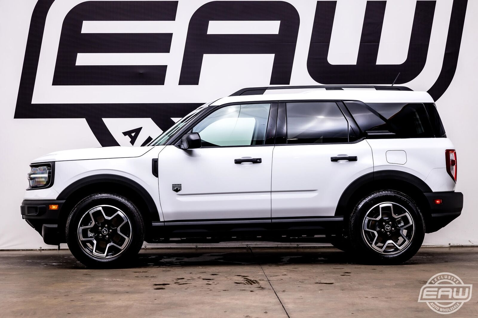 2021 Ford Bronco Sport Big Bend 4x4 167 Miles White Utility Body 3 Cylinder Engi
