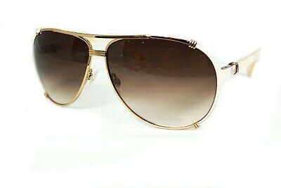 Christian Dior Chicago 2 UPUFM Gold Cream w/Brown Fade Aviator Sunglasses (Dior Chicago Aviator Sunglasses)