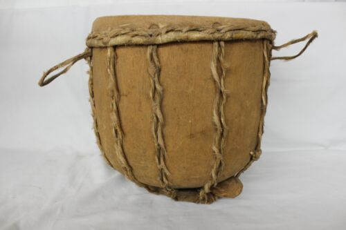 """Hand Made Cow Hide Drum 10.5"""" X 10.5"""""""