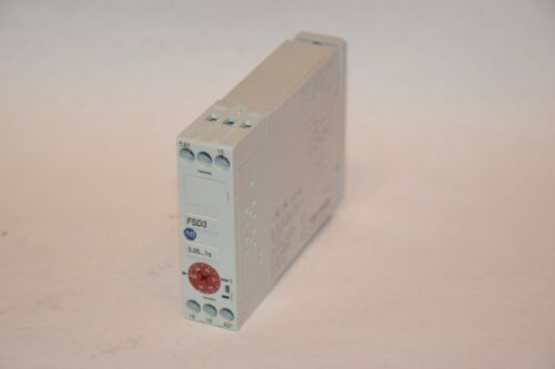 ALLEN BRADLEY FSD3 700-FS-101JU23 8A 25VAC SERIES B 0.05-1s TIMING RELAY