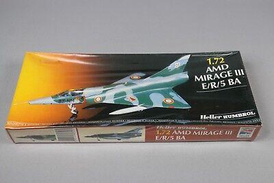 ZF572 Heller humbrol 1/72 maquette avion 80323 AMD MIRAGE III E/R/5 BA An 1986