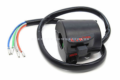 New Aftermarket Left Switch Assembly 70s CB CL Honda Horn Turn Signal Notes #M54