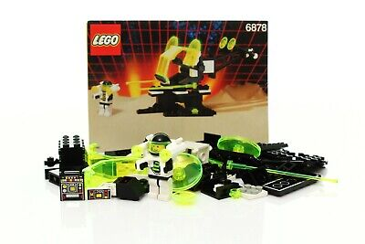 Lego Space Blacktron II Set 6878 Sub Orbital Guardian 100% complete +instr. 1991