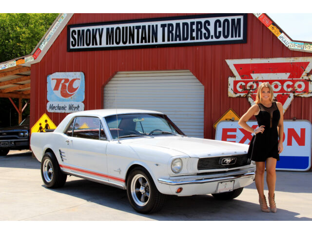 Ford: Mustang 1966 ford mustang coupe 289 power brakes auto trans great driver bargain buy