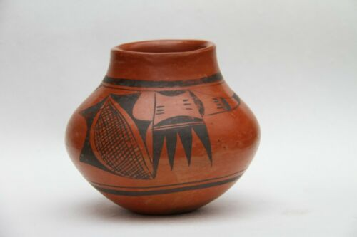 HOPI POT RACHEL NAMINGHA NAMPEYO Sikyatki artist vase bowl pottery clay HANO