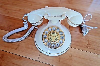 Vintage 80s 90s Radio Shack Heritage Hill Old Fashion Style Telephone Phone Prop