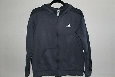 LN! Gray Adidas Zip Up Sweater Men's Size Large