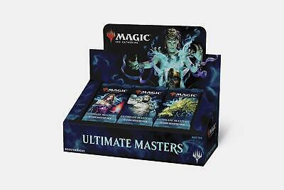🔥[FREE WORLDWIDE SHIPPING] MTG Ultimate Masters Booster Box with TOPPER