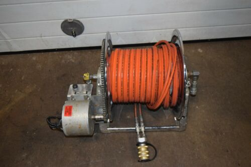 Hannay Reel E-2020-17-18 Industrial Hose Reel with Jaws Of Life Hose