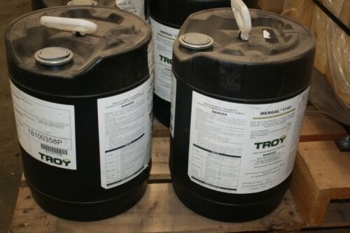 5 Gal. Troy Corp. Mergal 1711 Bactericide Hexahydro 1-3-5 Tris Machining Coolant
