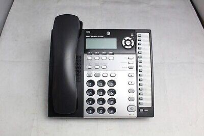 Lot Of 5 Att 1070 4-line Intercom Paging Small Business Office Phones