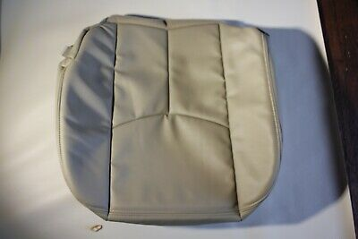 Vinyl Light Tan 522 2006 Chevy Suburban LS Z71 Driver Synth Leather Seat Cover