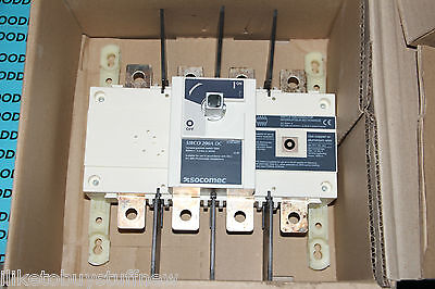 Socomec 210666 Sirco Dc 4x200a F Disconnect Switch 200a Dc 27dc4021a21066 New