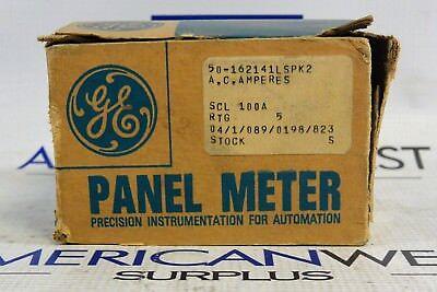General Electric Panel Meter 50-162141lspk2 100a Nib