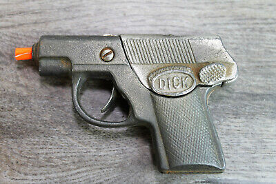 "Vintage Hubley Cap Gun Cast Iron Mod. 210 ""Dick"""