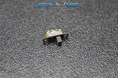 Spdt On-on Mini Slide Switch 125v Ac 3 Amp 3 Pin Toggle Off Ar-110