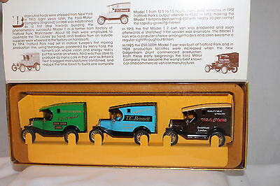 Corgi Transport Of The 1930S  Group Of 3 Model T Fords