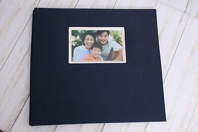 Fabric Cover Scrapbook Photo Album, 12