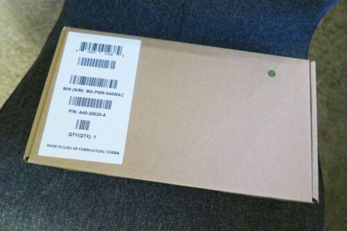 NEW Cisco Meraki MA-PWR-640WAC 640 WAC PSU for Meraki MS 320 350 Series Switch