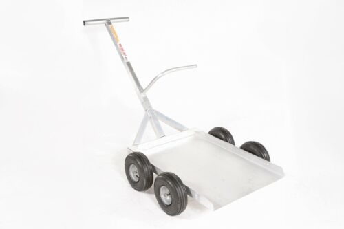 Alumacart Aluminum ALL purpose Cart, material handling,large pottery-USA Made
