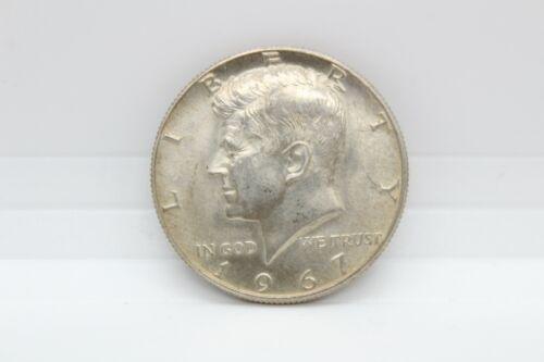 1967 USA John F. Kennedy 50 Cent Half Dollar Coin - 40 Silver - $3.99