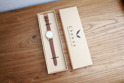 NEU! Cheesy Wooden Accessoires Damenuhr Tofino Ahorn, Watch, Holzuhr
