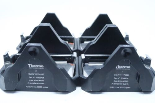 4x THERMO ELECTRON CENTRIFUGE SWING ROTOR BUCKETS 11174223