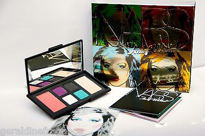(Nars Andy Warhol Collection - Debbie Harry Eye & Cheek Palette - Limited Edition)