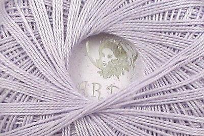 SWEET LILAC Crochet Thread Egyptian Cotton GARDEN 10 Nazli Gelin 306yd