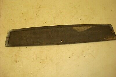 1974 Case 1370 Tractor Upper Grill Screen
