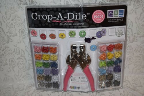 We R Memory Keepers Crop-A-Dile Grommett Set NEW