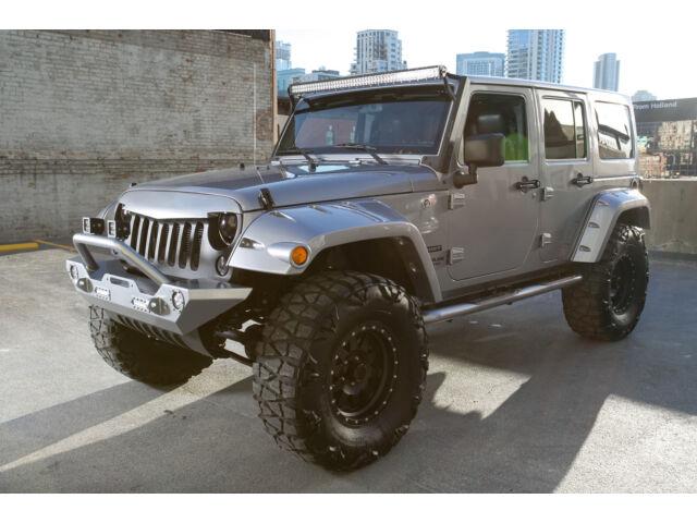 Imagen 1 de Jeep Wrangler  gray