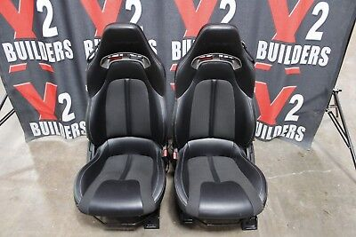 Gen 5 2013 2014 2015 2016 2017 Dodge viper leather bucket project seats #15376