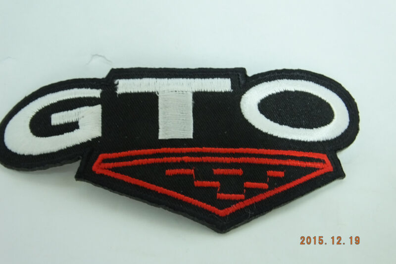GTO Patch  Iron-On Embroidered Patch