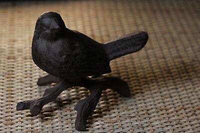 Cast Iron Garden Small Bird Ornamental Figurine