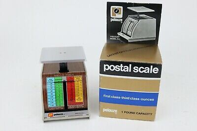 Vintage Pelouze Postal Scale 16 Oz X 12 Oz Model X-1 1981 - Nos In Boxunused