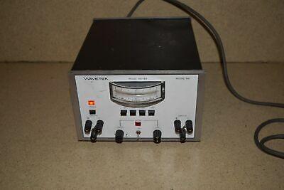 Wavetek Phase Meter Model 740