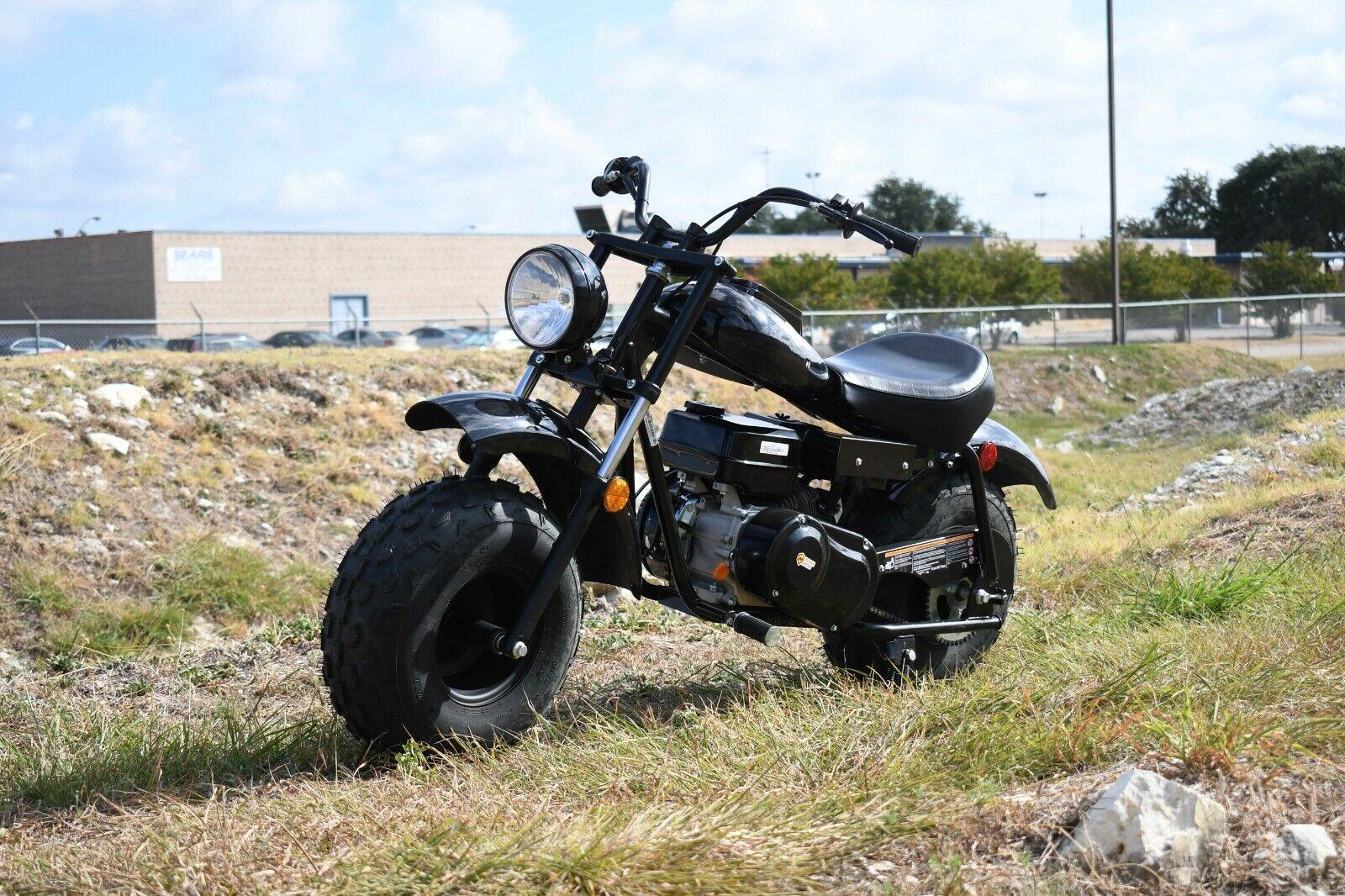 MASSIMO MB200 SUPERSIZED 196cc MINI BIKE MOTORCYCLE - BLACK
