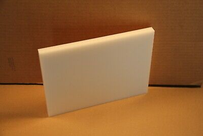 58 Delrin Block Natural Acetal Sheet 7.5x10 Cnc Millstock Plastic 5000