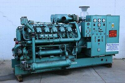 500 Kw Fairbanks Morse Model 500t-12v Stand By Diesel Generator Yoder 58852
