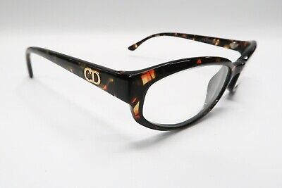 Christian Dior CD 2033 Rx Eyeglasses Frames 12N Tortoise Brown 51[]17-125 A398