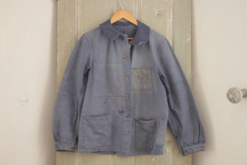 Work wear French blue jacket Farmer clothing Bill Cunningham denim timeworn