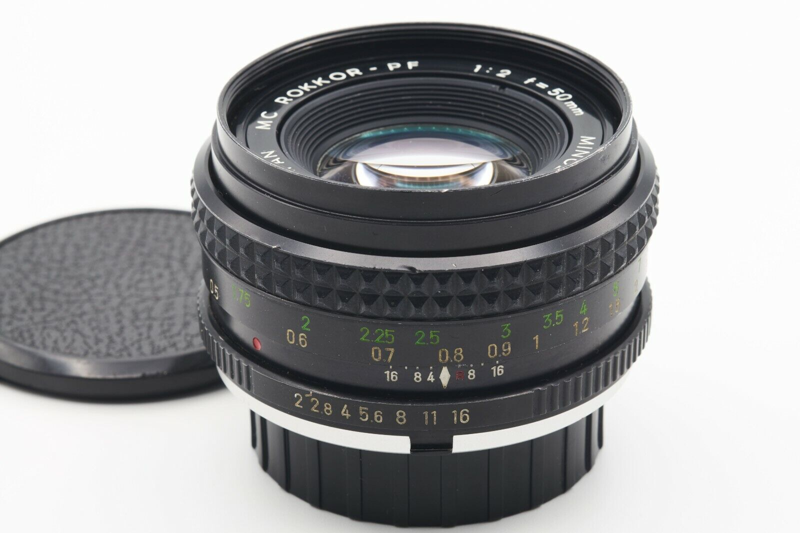 Minolta MC Rokkor-PF 50mm F2 Manual Focus Prime In MD Mount - $14.95