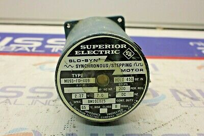 Superior Electric M093-fd-409 Slo-syn Synchronous Stepping Motor