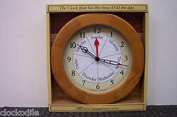 NEW 7 Day of Week Clock Date DAYCLOCK Retirement DAYCLOCKS RV  Alzheimers Memory