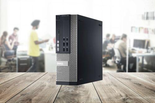 Dell Desktop Computer Windows 10 Quad Core i5 16GB RAM 1TB HDD 32GB Flash Drive