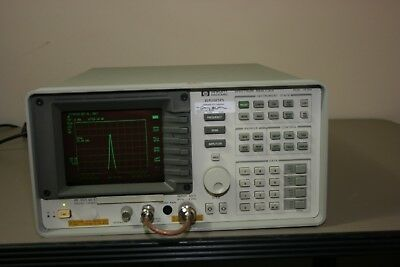 Hp Agilent 8590d 9khz-1.8ghz Spectrum Analyzer Calibrated With 30 Day Warranty
