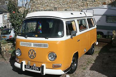 The VW camper is a true classic