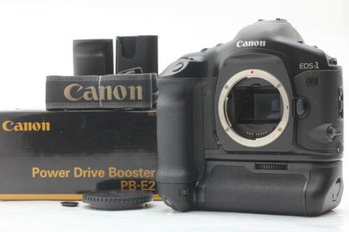 [MINT Count 009] Canon EOS-1V EOS1V 35mm SLR Film Camera Body PB-E2 Box JAPAN